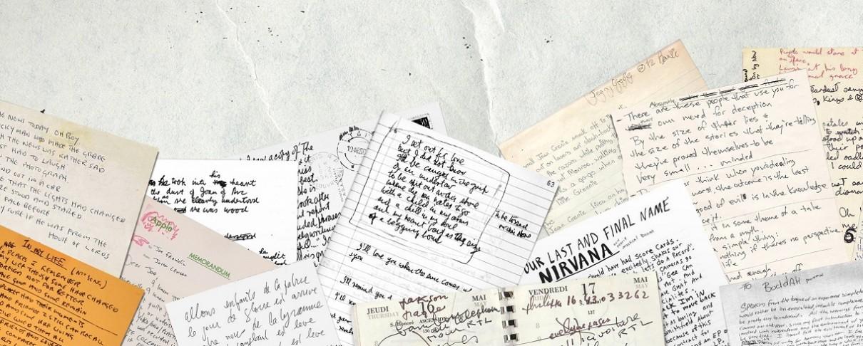 O γραφικός χαρακτήρας των David Bowie, Kurt Cobain και John Lennon γίνεται …γραμματοσειρά