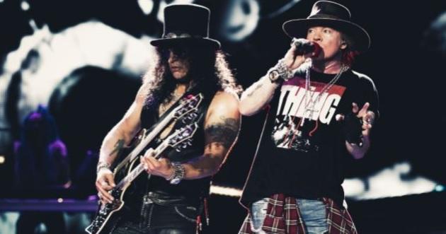 O Axl Rose έχει μπόλικο υλικό για νέο άλμπουμ των Guns N' Roses