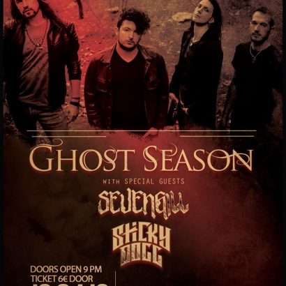 Ghost Season Live @The Crow Live Stage